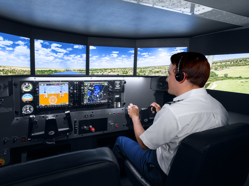 AATD Flight School Simulator