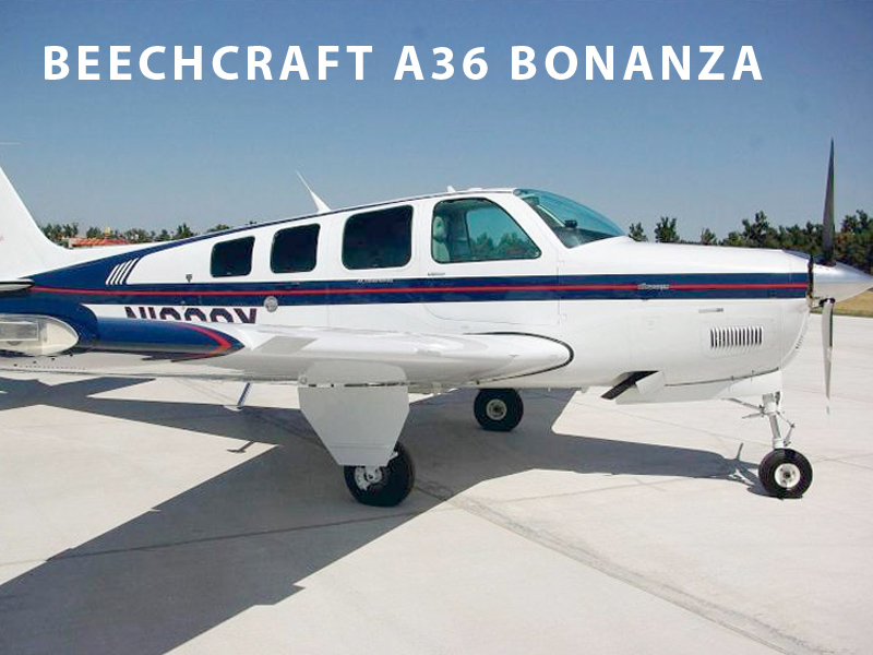 Beechcraft BE-35 Bonanza Flight School Aircraft